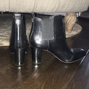Tory Burch Black Bootie Boots